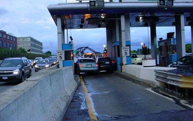 Toll Plaza Collision (back)