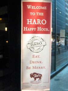 HARO Happy Hour