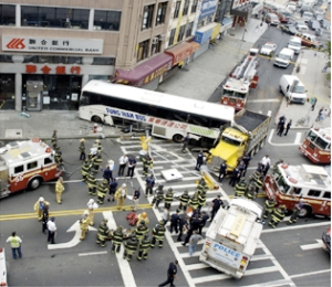New York City's 50 Most Dangerous Intersections