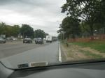 Accleration Lane On The Long Island Expressway