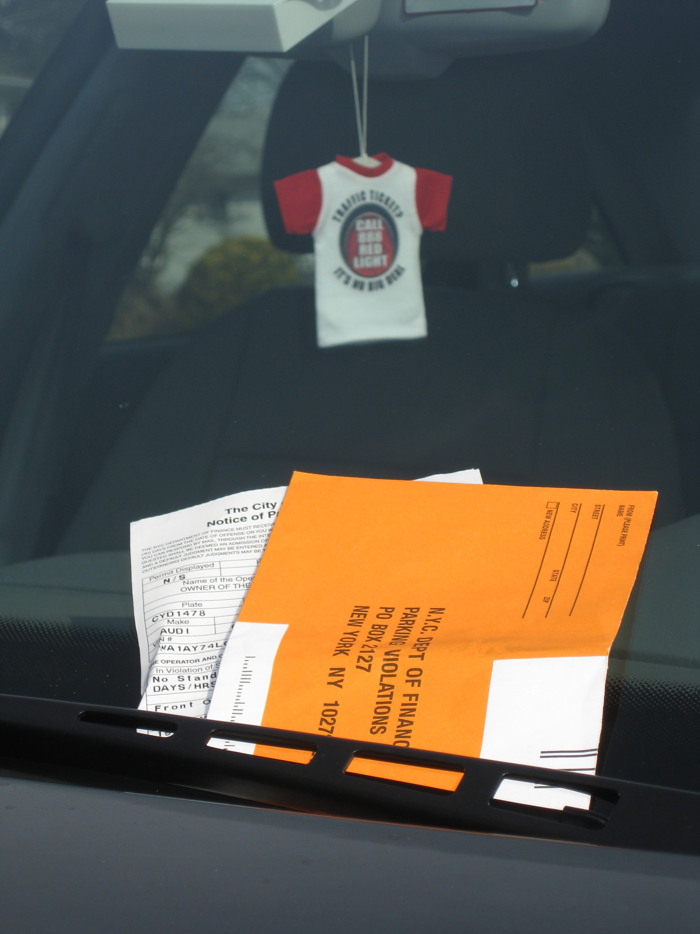 When To Give Up Fighting Your NYC Parking Ticket